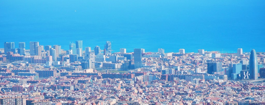 Barcelona streets for car rental adventures