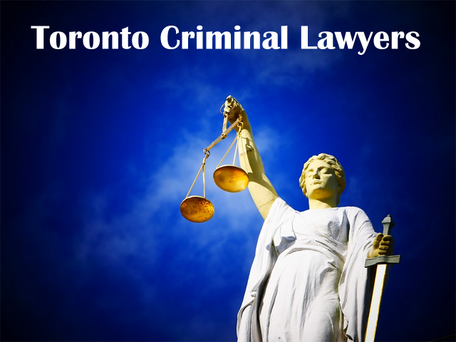 Toronto Criminal Lawyers.