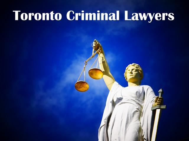 Toronto Criminal Lawyers.
